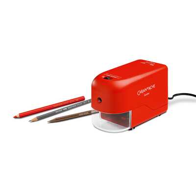 Temperówka elektryczna Caran d'Ache, czerwona