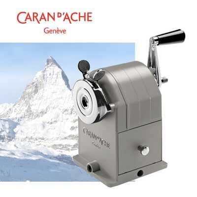 Temperówka metalowa Caran d'Ache, srebrna