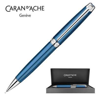 Długopis Caran d'Ache Leman Grand Bleu