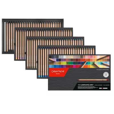 Kredki Caran d'Ache Luminance 6901, 100 kolorów