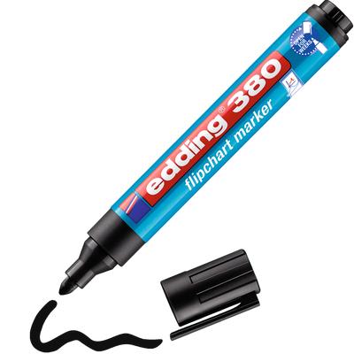 Marker do flipchartów Edding 380 Czarny