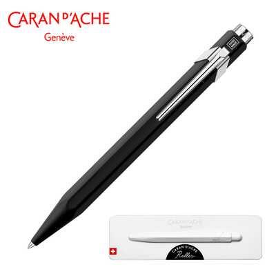Pióro kulkowe Caran d'Ache 849, czarne w pudełku