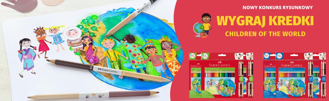 Konkurs rysunkowy - wygraj kredki z edycji Children of the World